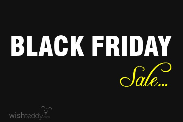 Wishing you black friday sale