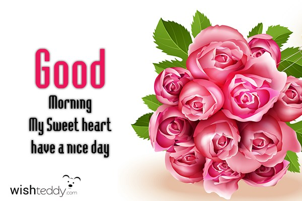 Good Morning My Sweet Heart Images & Pictures - Becuo