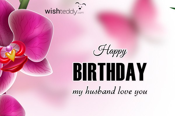 Happy Birthday Wishes To My Husband ~ Birthday wishes for husband page