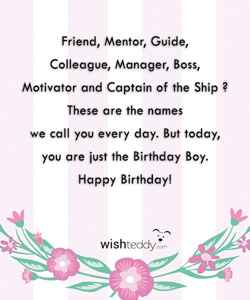 Birthday Wishes Page 55 Happy Birthday Wishes To Mentor